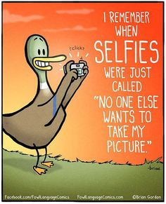 Selfies Should Be Called 'Lonelies'