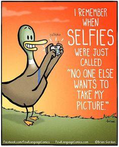 Selfies Should Be Called 'Lonelies'