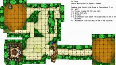 Inked Adventures » Improvising with dungeon tiles - gamer submission