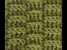 Left Hand Crochet Basketweave Rows - Square or Scarf @ http://www.youtube.com/watch?v=Y0zsa17BOv4=player_embedded