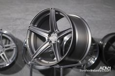 ADV5.1SL Superlight Monoblock Wheel in Matte Brushed Gunmetal