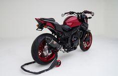 Custom Honda CB500F Naked CBR Sport Bike + RidgeLine Truck!| SEMA 2016 | Honda-Pro Kevin