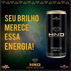 Mega Lançamento..HND Diamond Energy Drink é um produto exclusivo que a Hinode oferece para refrescar seus dias com uma dose extra de energia para você aproveitar a vida ao máximo! 15 sabores..