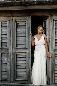 A Chic Caribbean Destination Wedding in Jamaica - Munaluchi Bridal Magazine #bridalgown #weddingdress