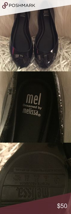 Melissa Queen Ballet Peep Toe NWOT, Kids are killing their moms over these shoes!!! They want them NOW!!! Known for their sweet smell and comfort. So popular!!! Never worn, perfect condition!! Mel dreamed by Melissa Shoes Dress Shoes