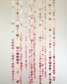 DIY: Ombré Heart Garland Tutorial from Alana Jones-Mann