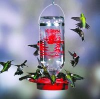 Functional and beautiful hummingbird feeder. Easy to clean and attracts lots of Hummers.