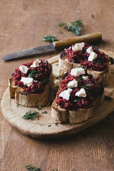Roasted beet pesto sandwiches by Pavel Gramatikov (pesto)