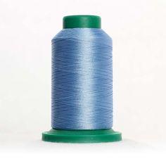 Isacord Machine Embroidery Thread No.40 1000m Cone Bright White Col.0015