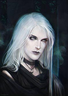 Ascara by LoranDeSore on DeviantArt Fantasy Heroes, Fantasy Male, Character Portraits, Character Art, Portrait Inspiration, Character Inspiration, Spooky Eyes, Female Characters, Fictional Characters