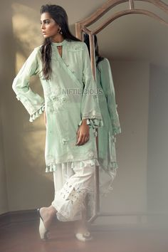 Élan released 3 back-to-back collections: Élan Vital, Indigene & Essentials – Niftilicious Pakistani Fashion Party Wear, Pakistani Dresses Casual, Pakistani Dress Design, Casual Dresses, Casual Clothes, Indian Fashion, Stylish Dresses For Girls, Stylish Dress Designs, Stylish Dress Book