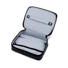 Leather Multi Compartment Jewelry Box with Zippered Closure. Allurez offers the finest selection of Diamonds and fine jewelry. Jewellery Boxes, Jewellery Storage, Jewelry Box, Fine Jewelry, Leather Jewelry, Band Rings, Fashion Backpack, Closure, Zipper