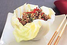 Pork san choy bow Recipe - Taste.com.au Mobile