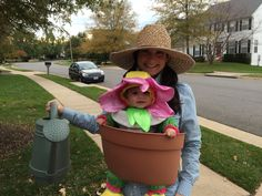 Flower Pot Baby Carrier Halloween Costume
