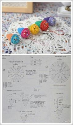 Best 11 80 Patrones para hacer zapatitos, botines y zapatillas de bebés en crochet (free patterns crochet sandals babies – Page 63472675985792403 – SkillOfKing. Crochet Fruit, Crochet Food, Love Crochet, Crochet Motif, Diy Crochet, Crochet Dolls, Crochet Flower Patterns, Crochet Designs, Crochet Flowers