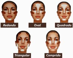 highlighting and contouring face shapes - Google Search