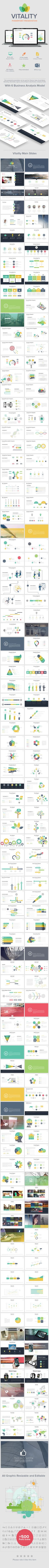 Vitality Powerpoint Presentation Template #slides #powerpoint Download: http://graphicriver.net/item/vitality-powerpoint-presentation-/11471385?ref=ksioks