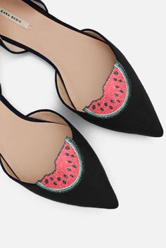 e06c4e14 Sandía - pinzas para zapatos, accesorios para zapatos, zapatos de moda