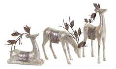 Sub Zero Collection Reindeer Table Piece (Set of 3)