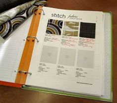 Get Organized With Free Fabric Stash Book Pages - StitchBlog - Quilting Daily