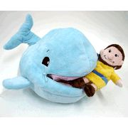 Bring the bible story to life for your kids with this cute stuffed animal of Jonah & The Whale!