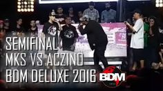MKS vs Aczino (Semifinal) - BDM Deluxe 2016 -   - http://batallasderap.net/mks-vs-aczino-semifinal-bdm-deluxe-2016/  #rap #hiphop #freestyle