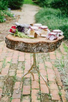 amazing display table // photo by Catherine Guidry // http://ruffledblog.com/southern-charm-wedding-ideas