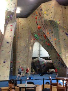 Maybe a #MotherDaughter event at Upper Limits Rock Climbing Gym ?