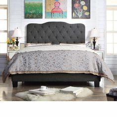 Mulhouse Furniture Elian Upholstered Panel Bed & Reviews   Wayfair