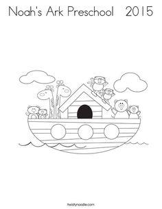 N Is For Noahs Ark Worksheet Customize It