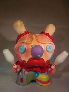 Custom Dunny Baloon | shawn wigs s twinkle the clown custom resin dunny series
