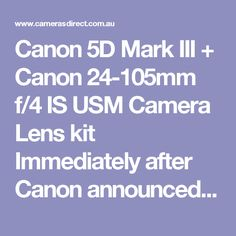 """Canon 5D Mark III + Canon 24-105mm f/4 IS USM Camera Lens kit Immediately after Canon announced the Canon EOS 6d, others were heard to question, """"Can be the 5d Mark III still the supreme value for money full frame camera rolling around in its Canon digital camera range?""""I'm in this article to inform you that it is. Having owned each and every 5d version from the original after that the Mark 2 and these days the 3, it is definitely my go to digital slr. A question to ask now is, """"yer but you…"""