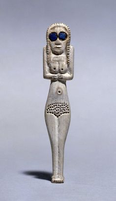 "coolartefact: "" Bone figure of a woman, Egyptian pre-dynastic ~3700-3500 BC. [750x1301] Source: http://www.britishmuseum.org/collectionimages/AN00006/AN00006098_001_l.jpg """