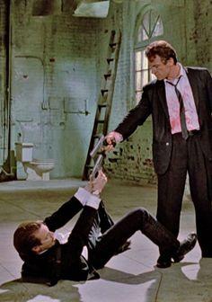 Harvey Keitel & Steve Buscemi in Reservoir Dogs by Quentin Tarantino
