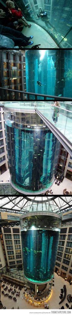 The Radison Blu Hotel in Berlin