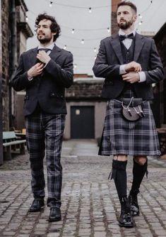 Persevere Flint Grey Tartan 8 Yard Kilt Men In Kilts, Kilt Men, Le Kilt, Modern Man, Tartan, Yard, Mens Fashion, Grey, Men's Style