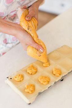 Butternut Squash filled ravioli