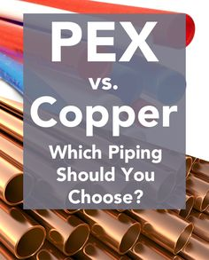 1000 images about plumbing tips tricks and deals on for Pex versus copper