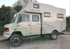 Demountable campers for sale - Page 362 Mercedes Sprinter, Mercedes Camper, Mercedes Van, Mercedes Benz Unimog, Small Campers, Cool Campers, Campers For Sale, 4x4 Camper Van, Truck Camper