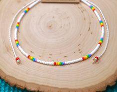 Simple Jewelry, Cute Jewelry, Seed Bead Jewelry, Beaded Jewelry, Handmade Jewelry, Beaded Bracelets, Jewelry Necklaces, Bullet Jewelry, Geek Jewelry