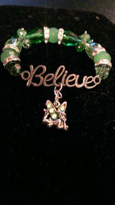 Peter Pan Tinker Bell Inspired Bracelet