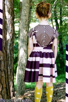 Project Run and Play: The Pattern Remix Challenge: The Popover Sundress