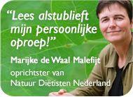 Een persoonlijke oproep van Marijke de Waal Malefijt