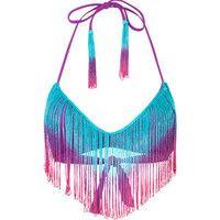 BIKINI LAB Ferdinand Bikini Top 207438766 | Swimsuits | Tillys.com