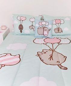 Pusheen Cute, Pusheen Shop, Pusheen Stuff, Girl Room, Girls Bedroom, Bedroom Decor, Cute Bed Sheets, Cute Bedroom Ideas, Kawaii Room