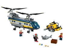 Rescue the stricken divers with the Deep Sea Helicopter!
