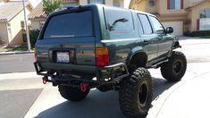 Toyota 4runner 1995, Toyota 4x4, Toyota Trucks, Lifted Trucks, Toyota Garage, 4runner Off Road, Toyota Surf, 4runner Limited, Jeep Xj