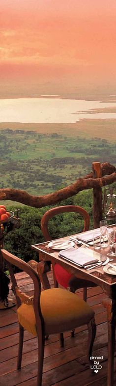 Ngorongoro Crater Lodge | LOLO❤︎ More RePinned by : www.powercouplelife.com