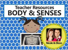 INSPIRATIONAL IDEAS FOR TEACHING ABOUT BODY PARTS, THE 5 SENSES, & MORE! Includes ideas for vocabulary building, hands-on activities, crafts, snacks and songs, as well as suggested worksheets and printable resources. Great for Preschool (PK), Kindergarten (K), First (1st) Grade, and (2nd) Second Grade students!