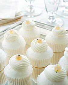 Mini Pavlovas - Martha Stewart  Another way if you have too much egg white!  Lighter than air meringue bake in muffin pan Top with Greek yogurt and creamcheese cream